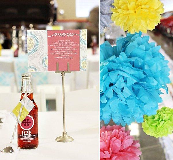Creative Wedding Luncheon with IZZE