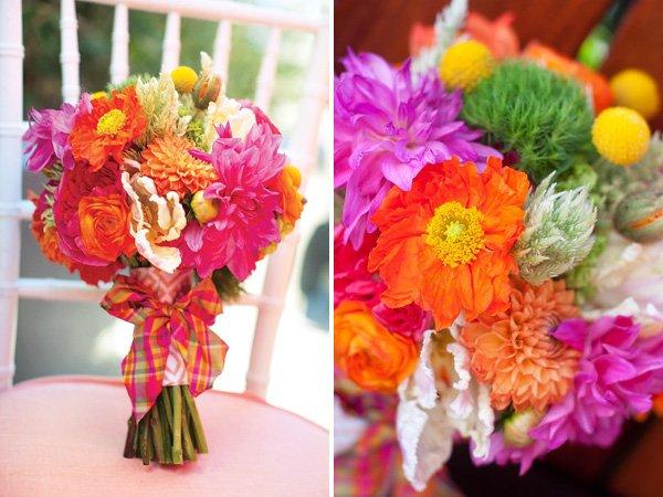 Pink Orange Wonderlandia Wedding, Tea Party