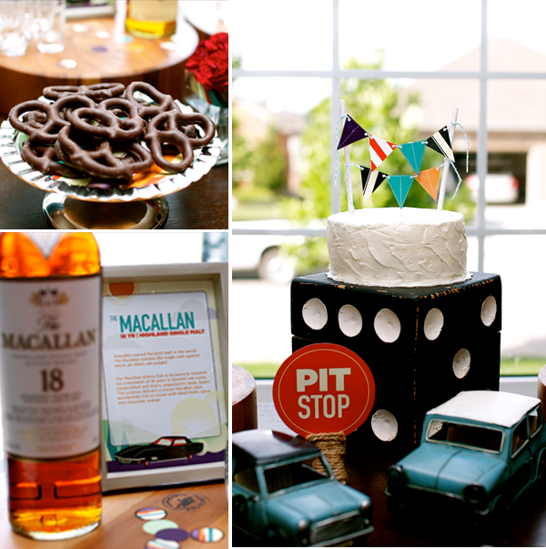 Scotch chocolate 40th birthday party hostess with the for 40th birthday decoration ideas for men