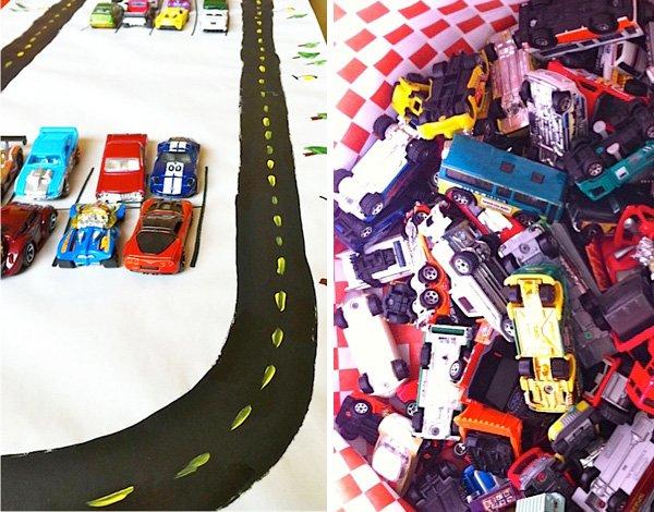 Vintage Transportation Birthday Party