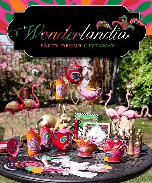 Alice in Wonderland Party Giveaway
