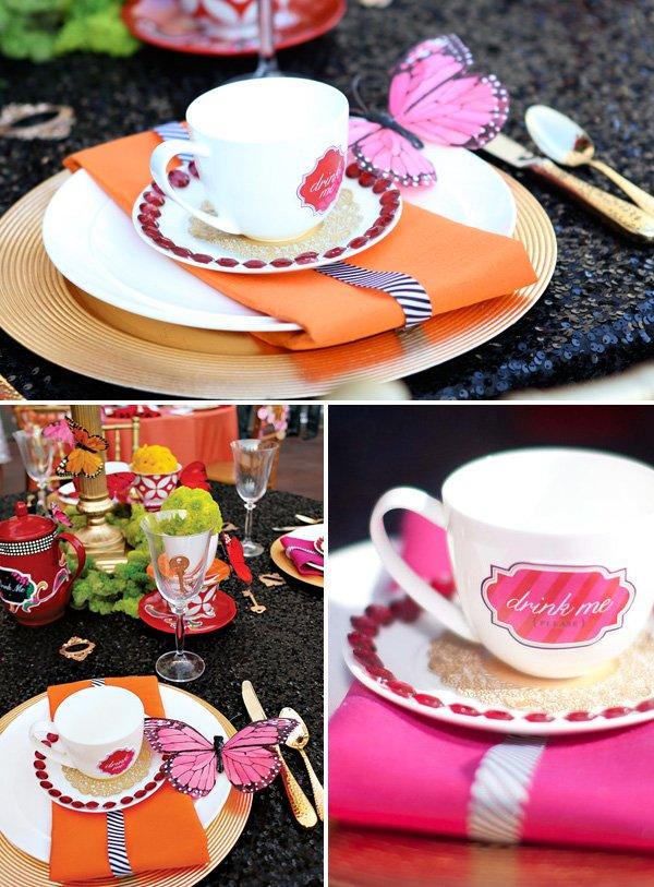 Alice in Wonderlandia Glam Tea Party