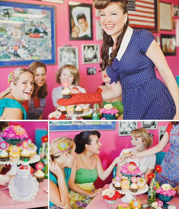 1950s bridal shower