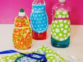 1950's bridal shower bottle apron tutorial