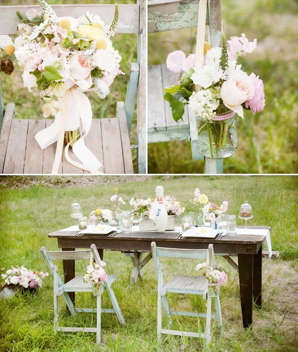 Pretty playful a vintage style 1940s inspired wedding for Decoration theme jardin