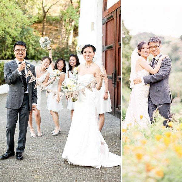 Romantic California Vineyard Wedding