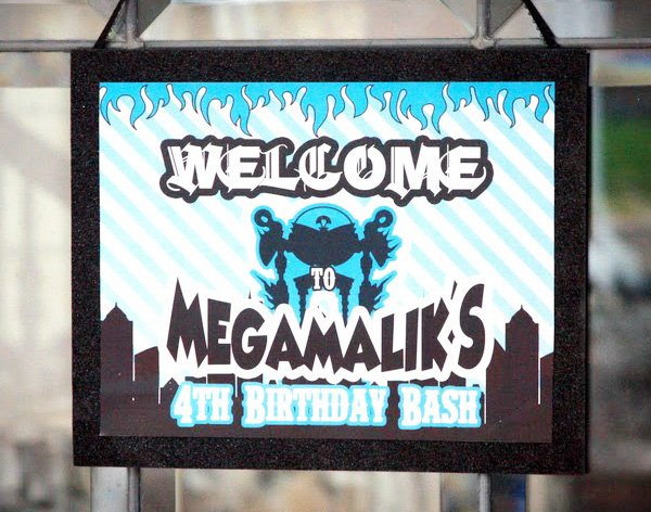MegaMind Birthday Party Ideas