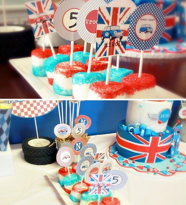Mini Cooper Birthday Party
