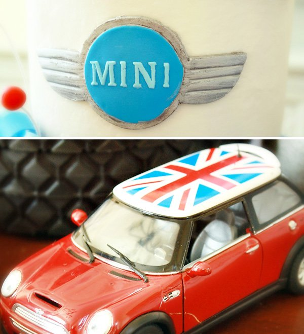 Mini Cooper Birthday Party