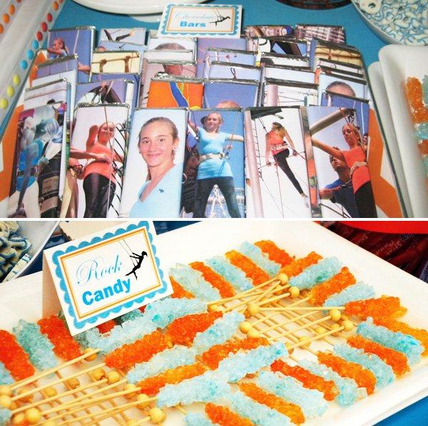 Trapeze Birthday or Bat Mitzvah Party Theme