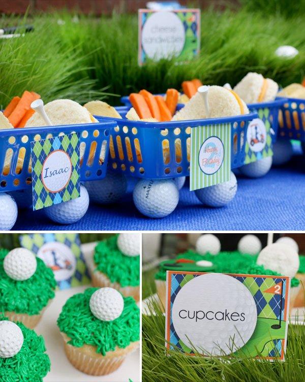 golf themed birthday party