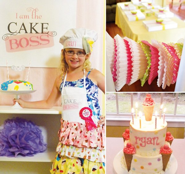 Groovy Sweet Cake Boss Baking Birthday Party Hostess With The Mostess Personalised Birthday Cards Paralily Jamesorg