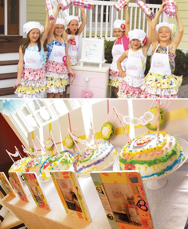 Cake Decorating Party Ideas : Sweet