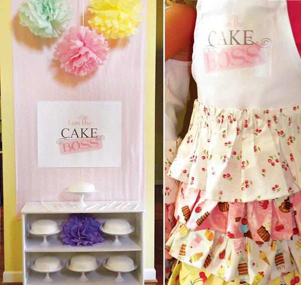 Cake Boss Birthday Party Ideas