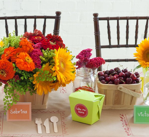 Colorful Rainbow Kids Party