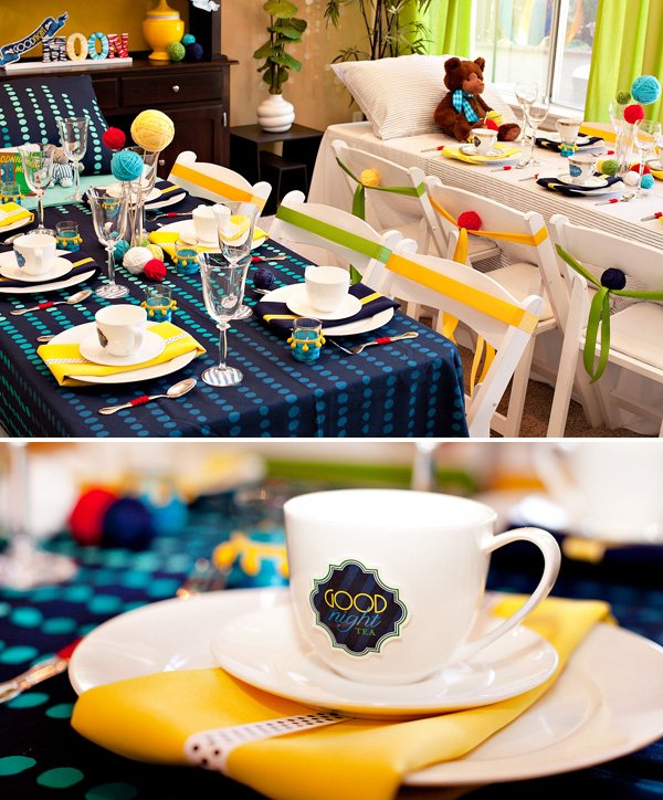 Goodnight Moon Inspired Baby Shower