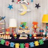 Goodnight Moon Baby Shower Dessert Table