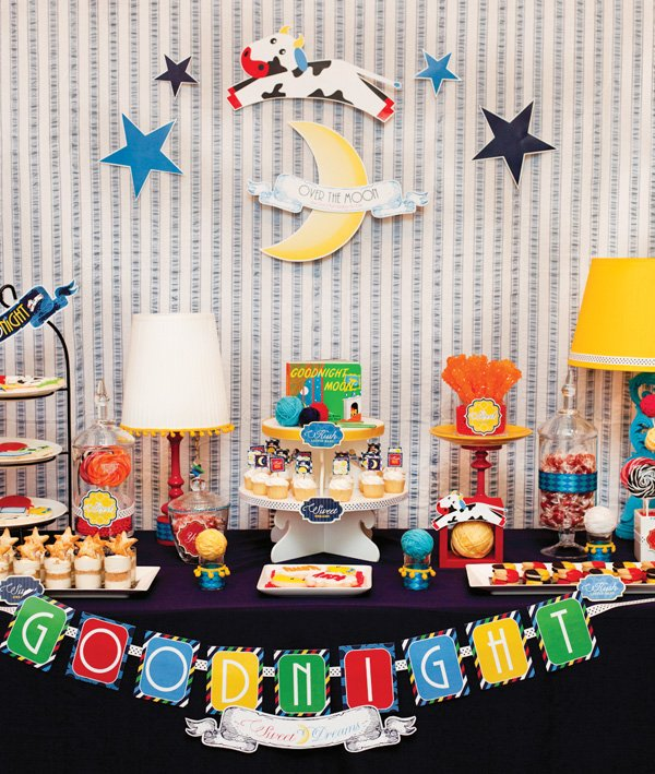 Goodnight Moon Baby Shower 100 Giveaway