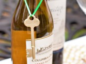 Skeleton Key Wine Bottle Tag