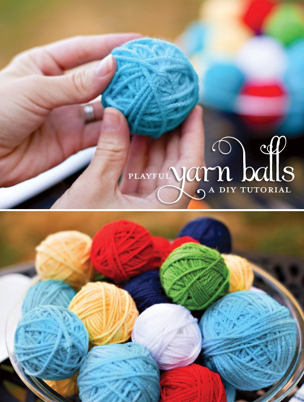 Yarn Ball Tutorial