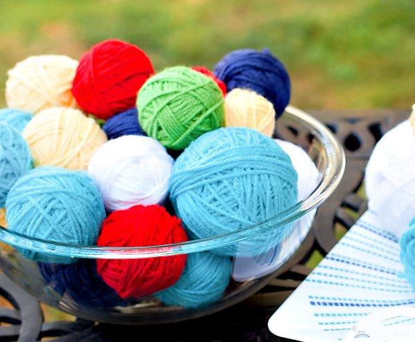 Yarn Ball Tutorial