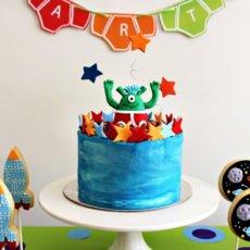 Aliens Love Underpants Birthday Party Ideas