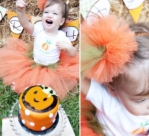 Little Pumpkin Birthday Party
