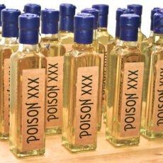 Poison Bath Oil Halloween Party Favors - DIY Tutorial