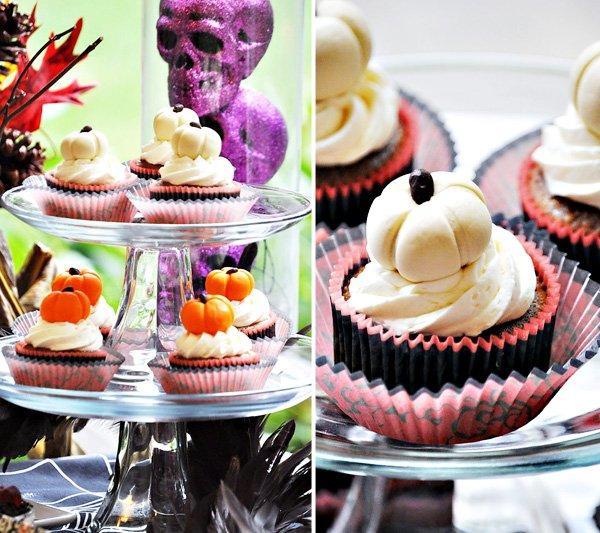 Rustic Elegant Halloween Dessert Table