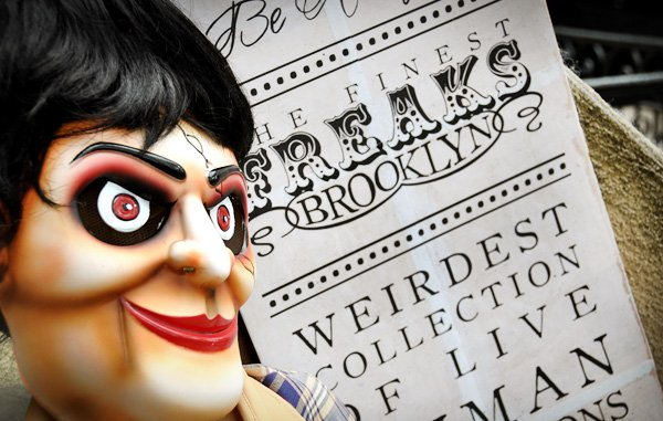 Haunted Victorian Sideshow Halloween Party