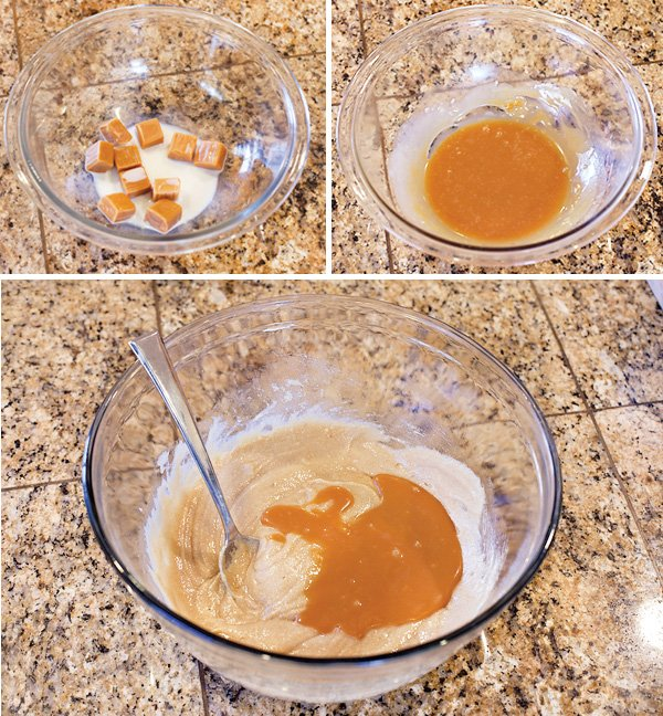 Chocolate Caramel Apple Cookies Recipe
