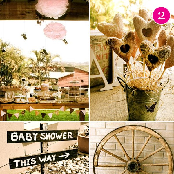 Vintage Cowgirl Baby Shower