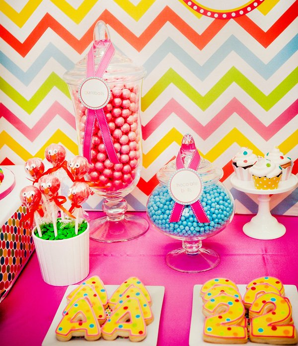 Girly Elmo Birthday Party