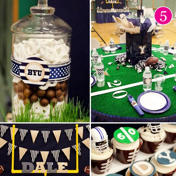 Surprise 60th Football Birthday Party