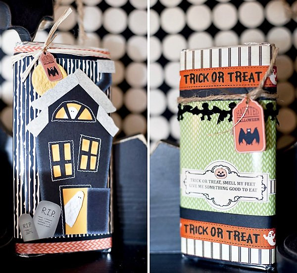 Halloween DIY Crafts - Candy Bar Wrappers