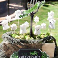 Halloween Ghost Treat Display