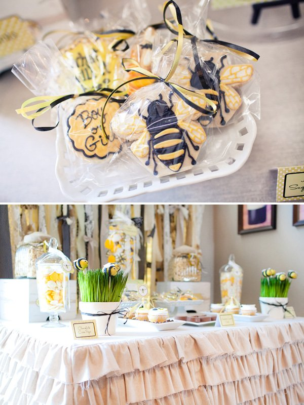 Honeybee Baby Gender Reveal Party