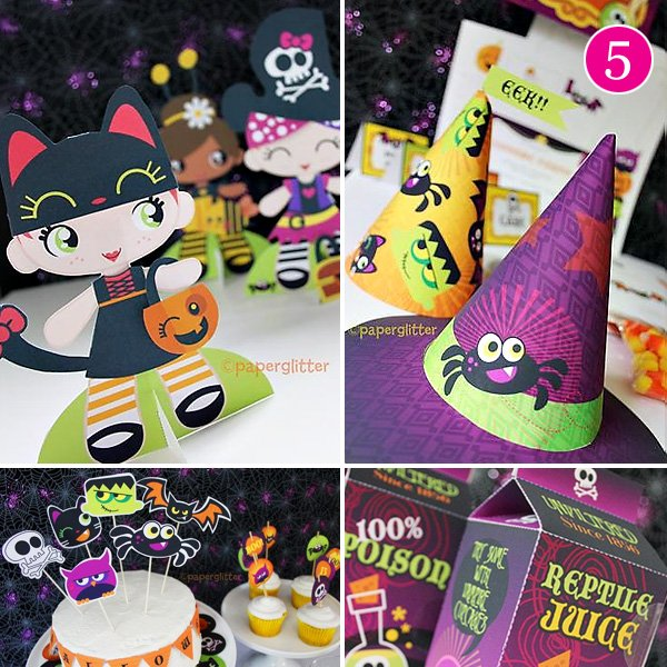 Kids Halloween Printables