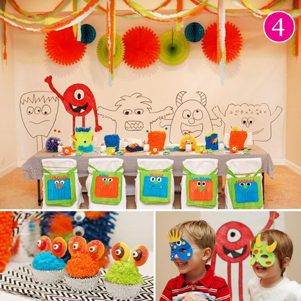 Little Monsters Birthday Party