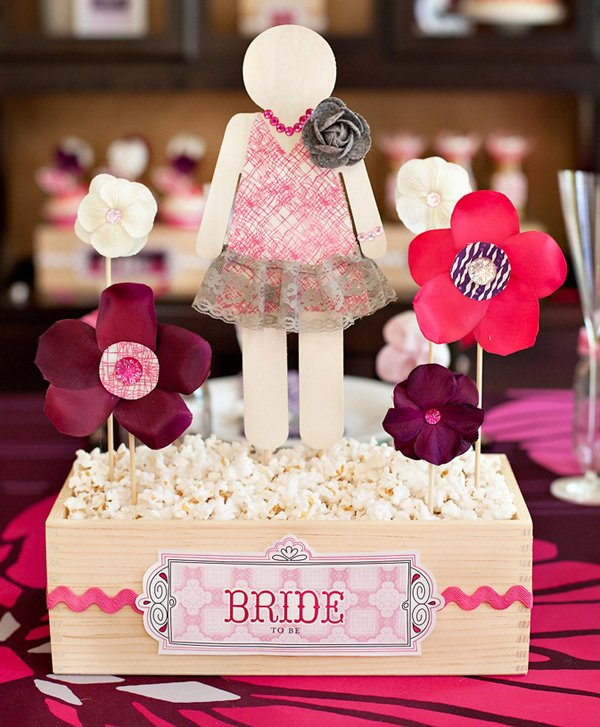 Petals & Popcorn Bridal Shower