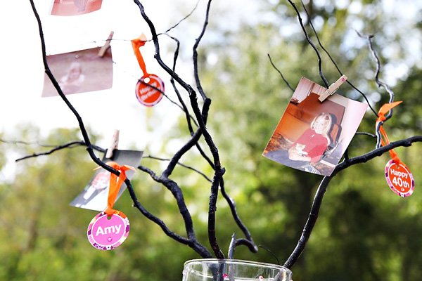 40th birthday party ideas