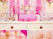 Pink Ribbon Breast Cancer Awareness Dessert Table