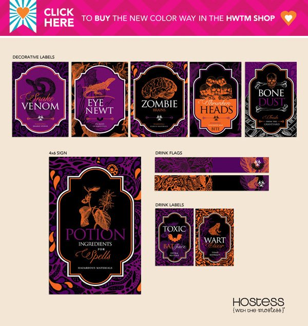 potions hwtm printable collection