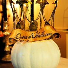 Vintage Queen of Halloween Party