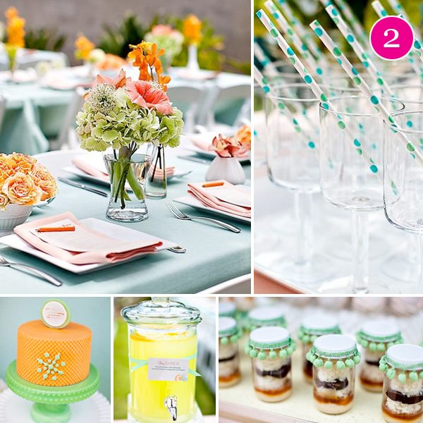 Retro Baby Shower Ideas