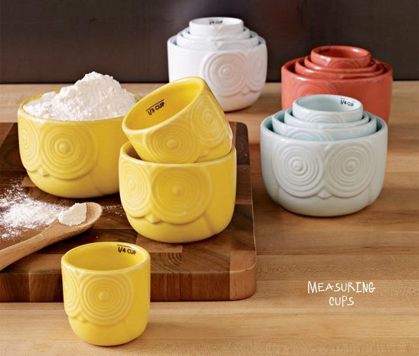 Owl Measuring Cups - West Elm