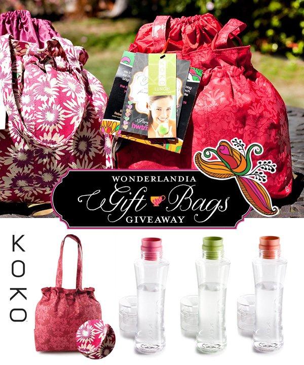 Wonderlandia Gift Bags Giveaway KOKO