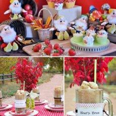 7 Dwarfs Party Themed Birthday Party