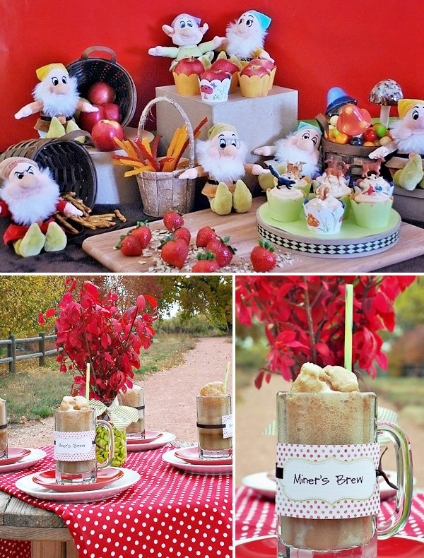 7 Dwarfs Party Themed Birthday Party