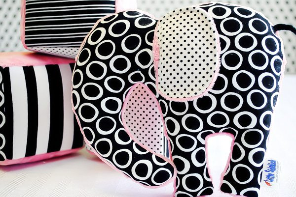 Modern Elephant Themed Baby Shower